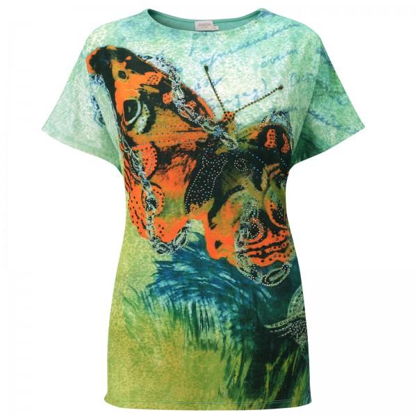 Estefania for woman Shirt mit Schmetterling