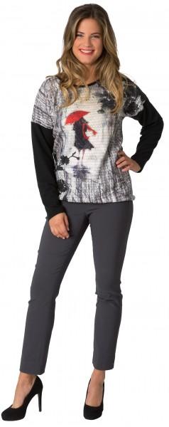 Gio Milano, Oversize Shirt bedruckt